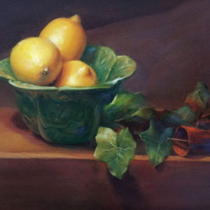 Cabbage Bowl with Lemons